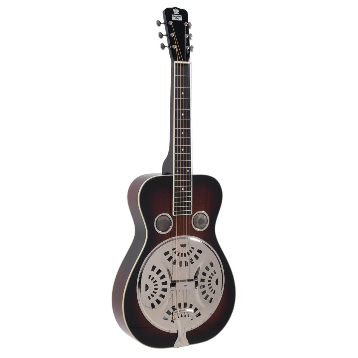 Recording King RR-60 VS squareneck resonator-guitar Vintage Sunburst