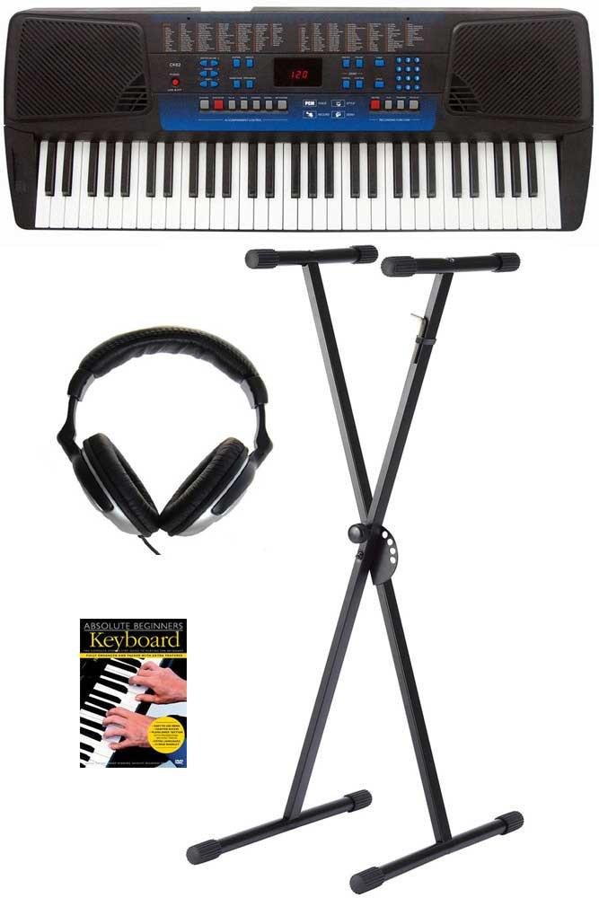 Ringway CK62 begynder-keyboard, sort PAKKELØSNING