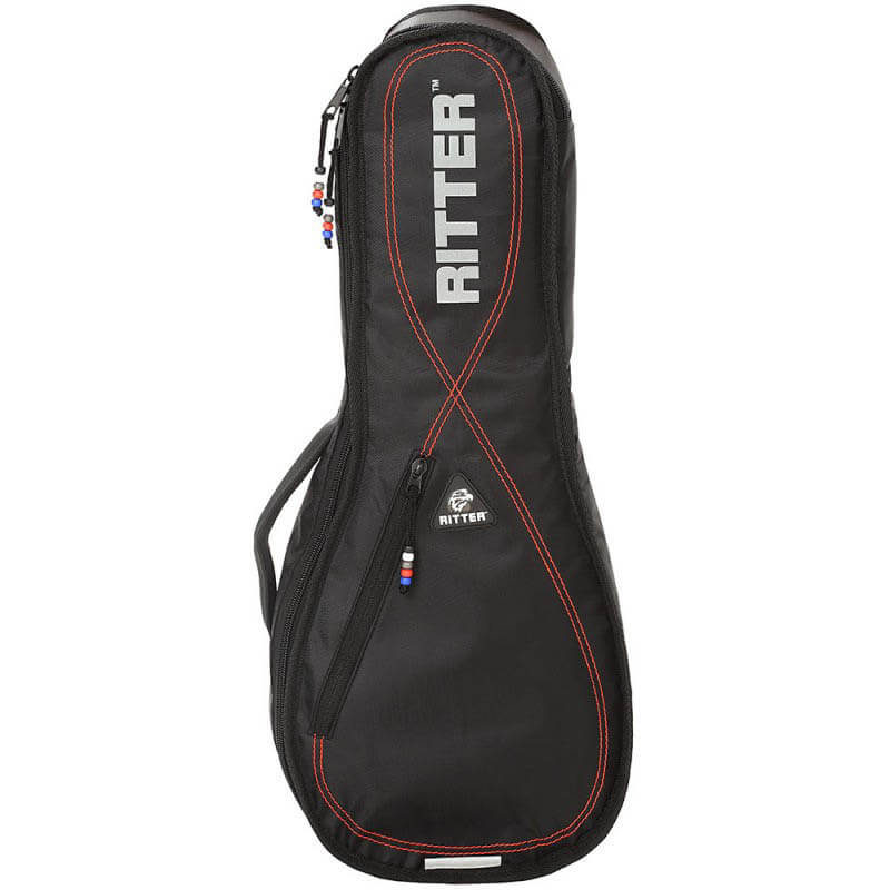Ritter RGP2-U/BRD ukulele taske black / red thumbnail