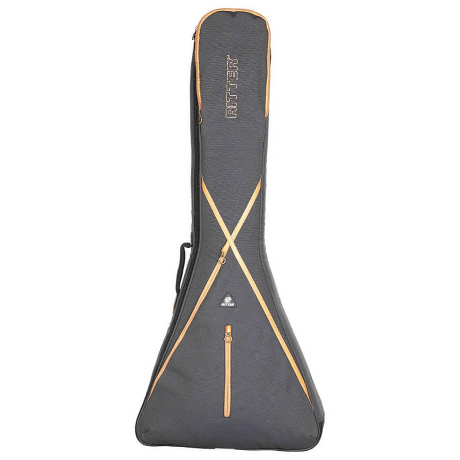 Ritter RGS7-V/MGB taske til flying v guitar grey / brown thumbnail
