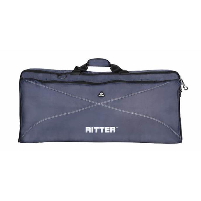 Image of   Ritter RKP2-00/BLW taske til keyboard, 28x48x10 cm. blue / silvergrey