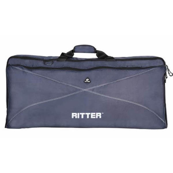 Image of   Ritter RKP2-15/BLW taske til keyboard, 96x41x15 cm blue / grey / white