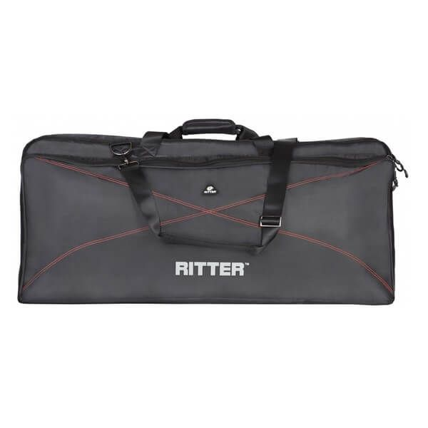 Ritter RKP2-55/BRD taske til keyboard,138x37x17 cm black / red