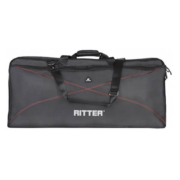 Image of   Ritter RKP2-65/BRD taske til keyboard, 147x45,5x19 cm black / red