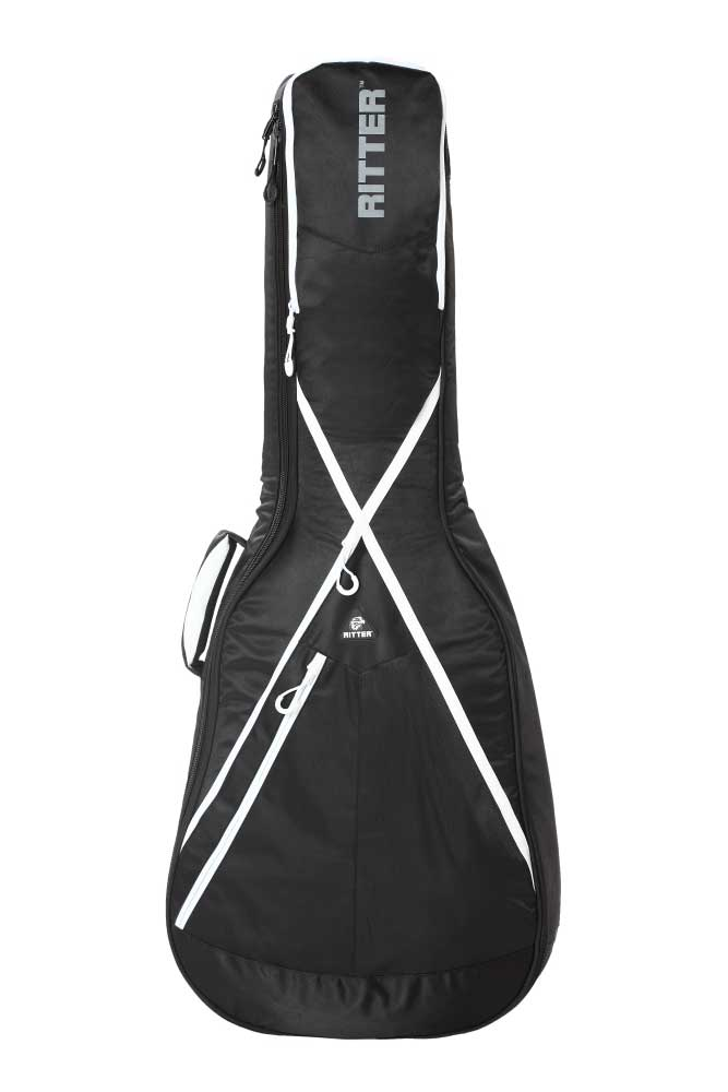 Ritter RGP8-D/BKW tasketilwestern-guitar sort