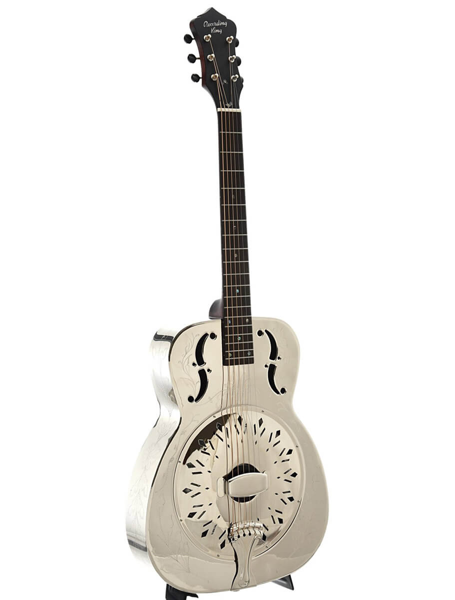 Recording King SO-998 EF resonator-guitar