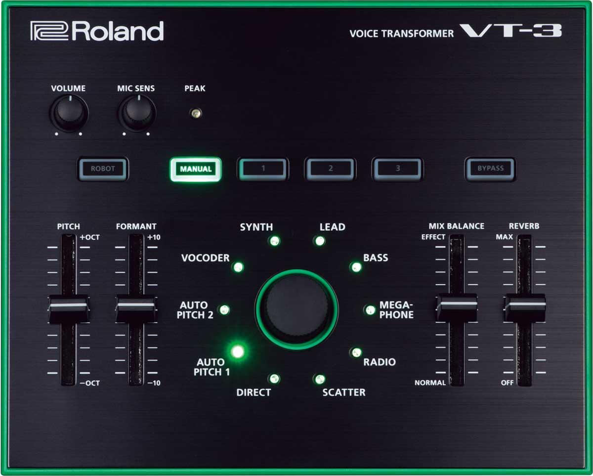 Roland VT-3 AIRA voicetransformer