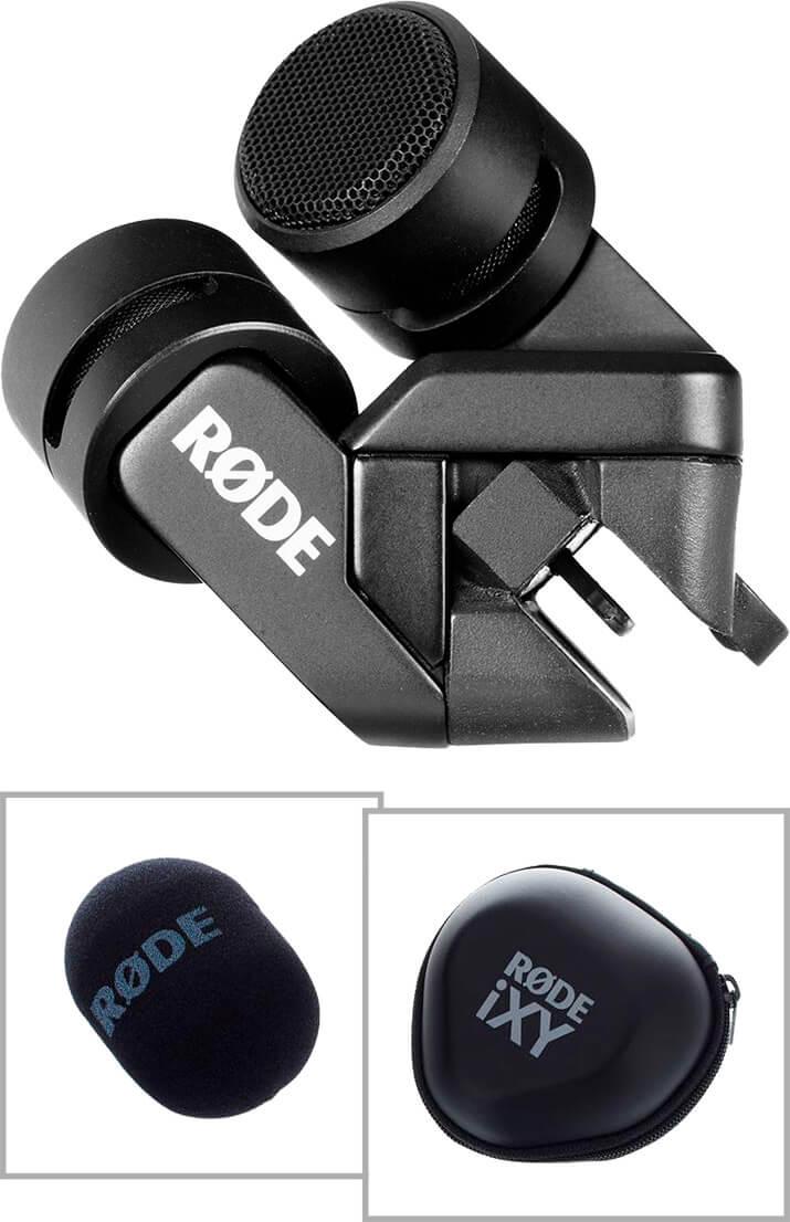 Røde iXYLightning stereokondensator-mikrofontiliPad&iPhone