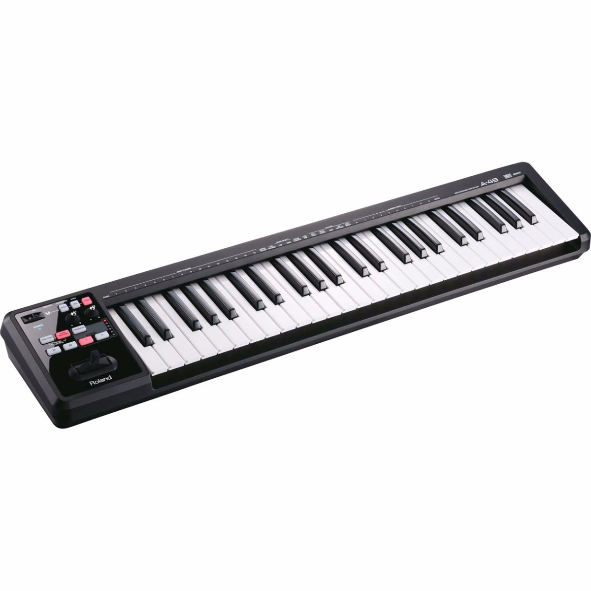 Image of   Roland A-49 BK USB-midi-keyboard