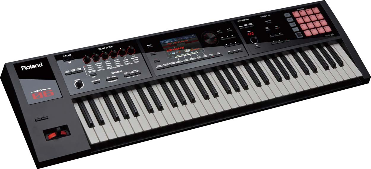 Roland FA-06 workstation