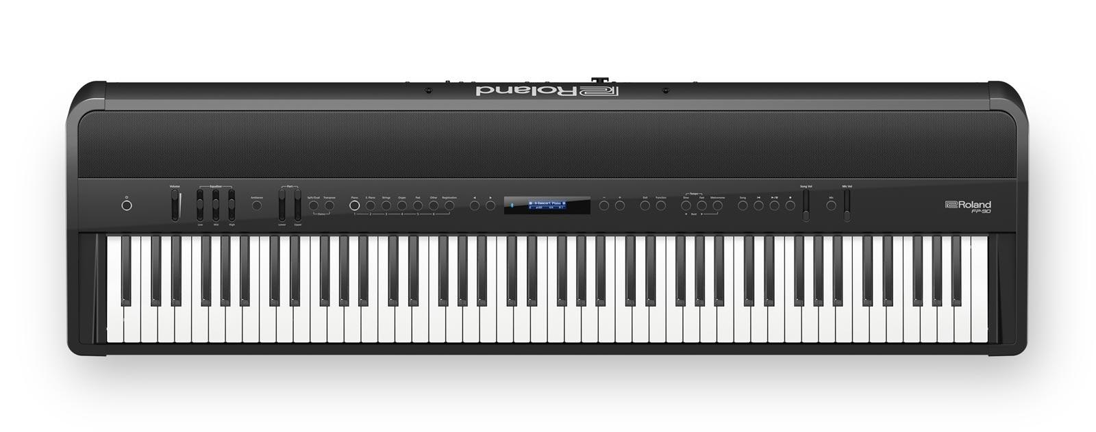 Image of   Roland FP-90 BK el-klaver