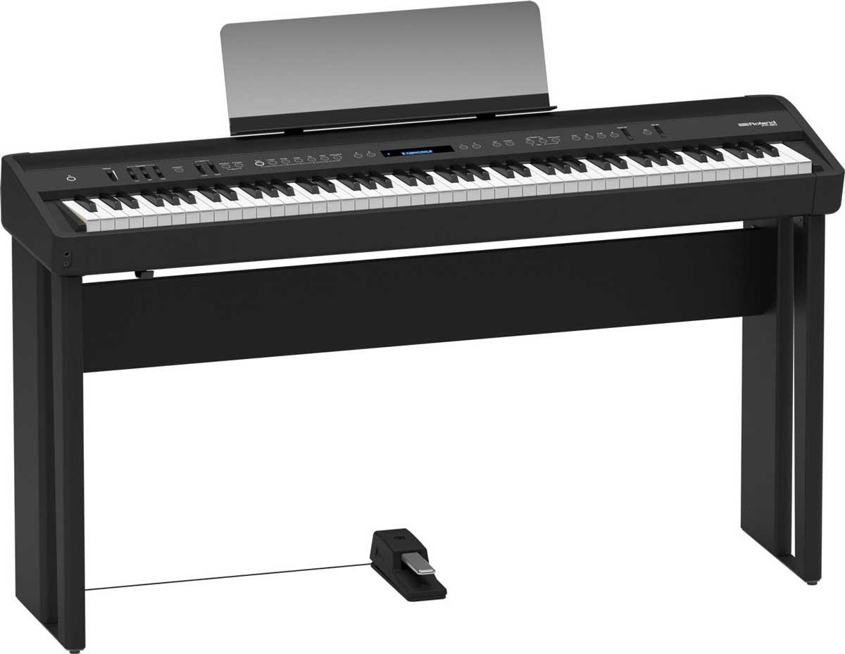 Image of   Roland elklaver FP90-BK med KSC90 ben