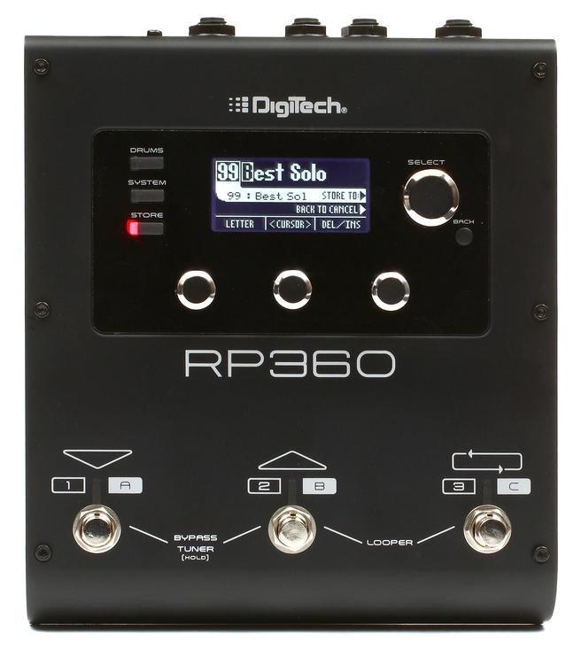 Digitech RP 360 guitar-multieffekt-pedal