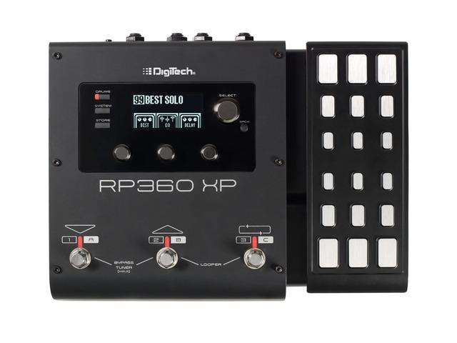 Digitech RP 360 XP guitar-multieffekt-pedal