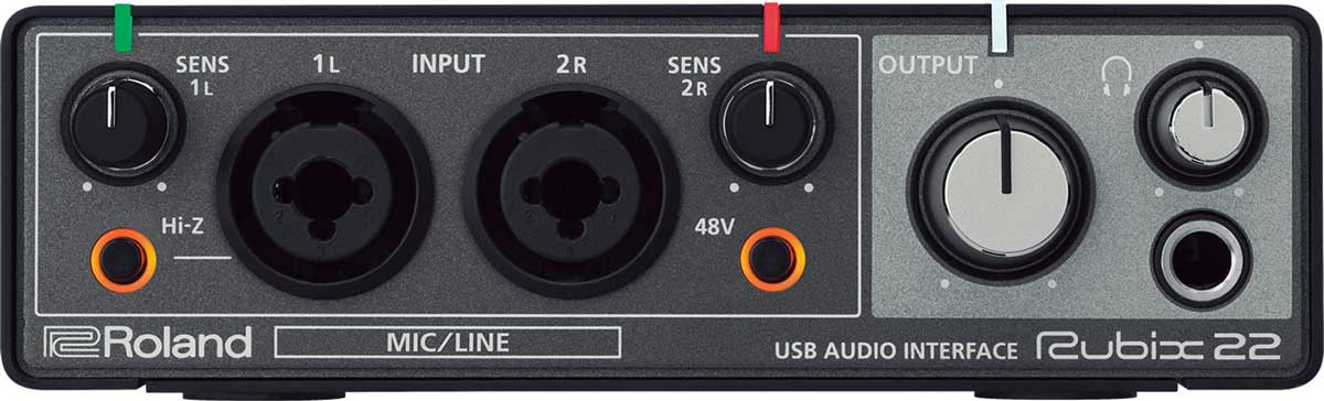 Roland Rubix 22 audiointerface