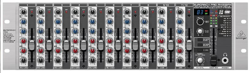 Behringer RX1202FXEurorackPro mixer