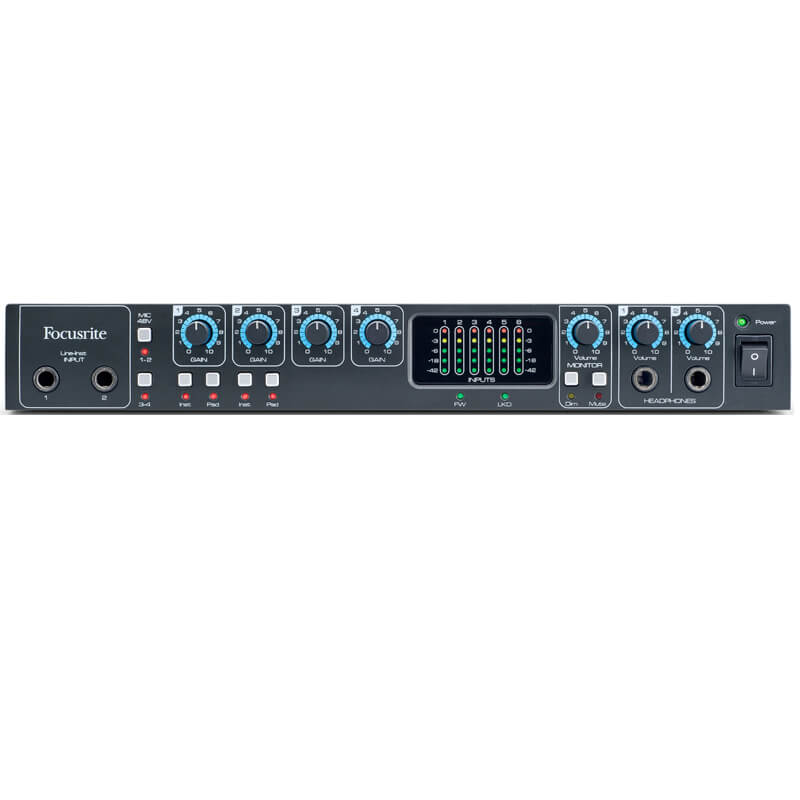 Focusrite SaffirePro26 audiointerface