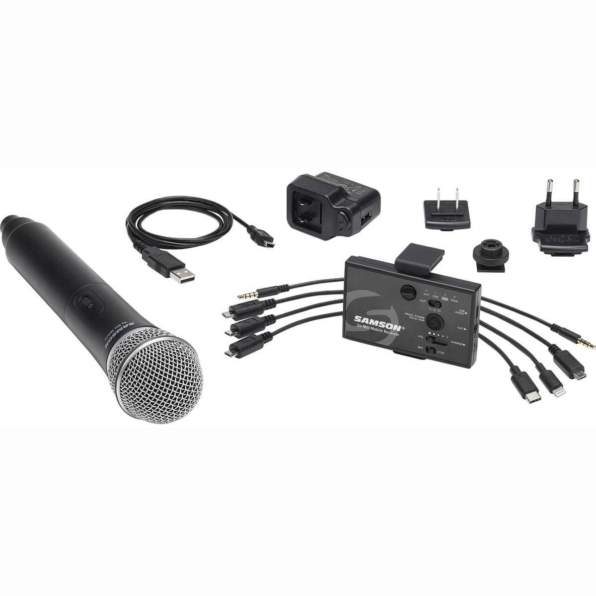 Samson Go Mic Mobile trådløsthåndholdtmikrofon-sæt