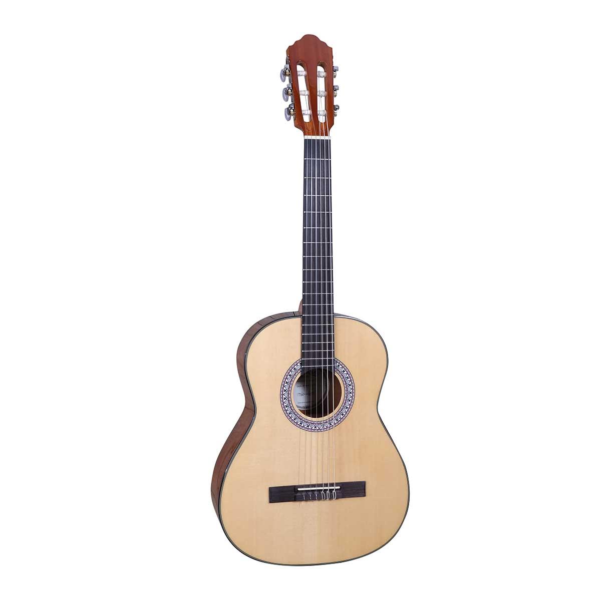 Santana B7 NA LEFT v2 børne spansk-guitar, venstrehåndet natur