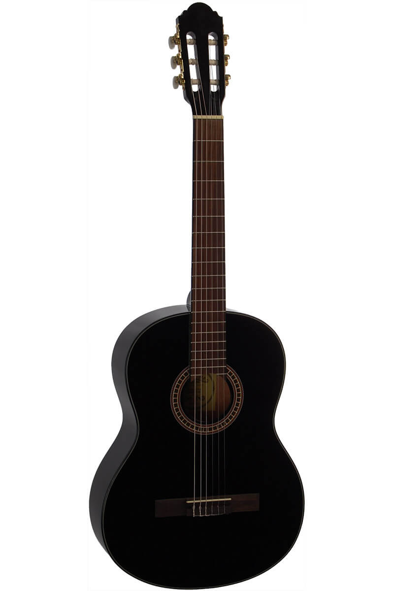 Santana B8BK spansk-guitar sort
