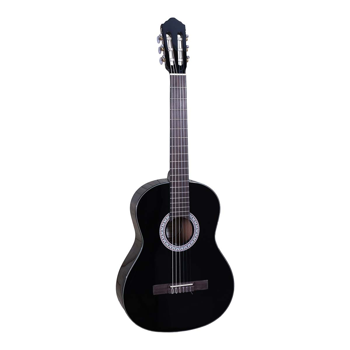 Santana B8 BK v2 spansk-guitar sort