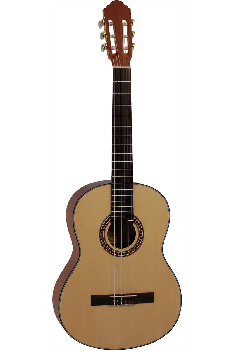 Santana B8SA spansk-guitar satin