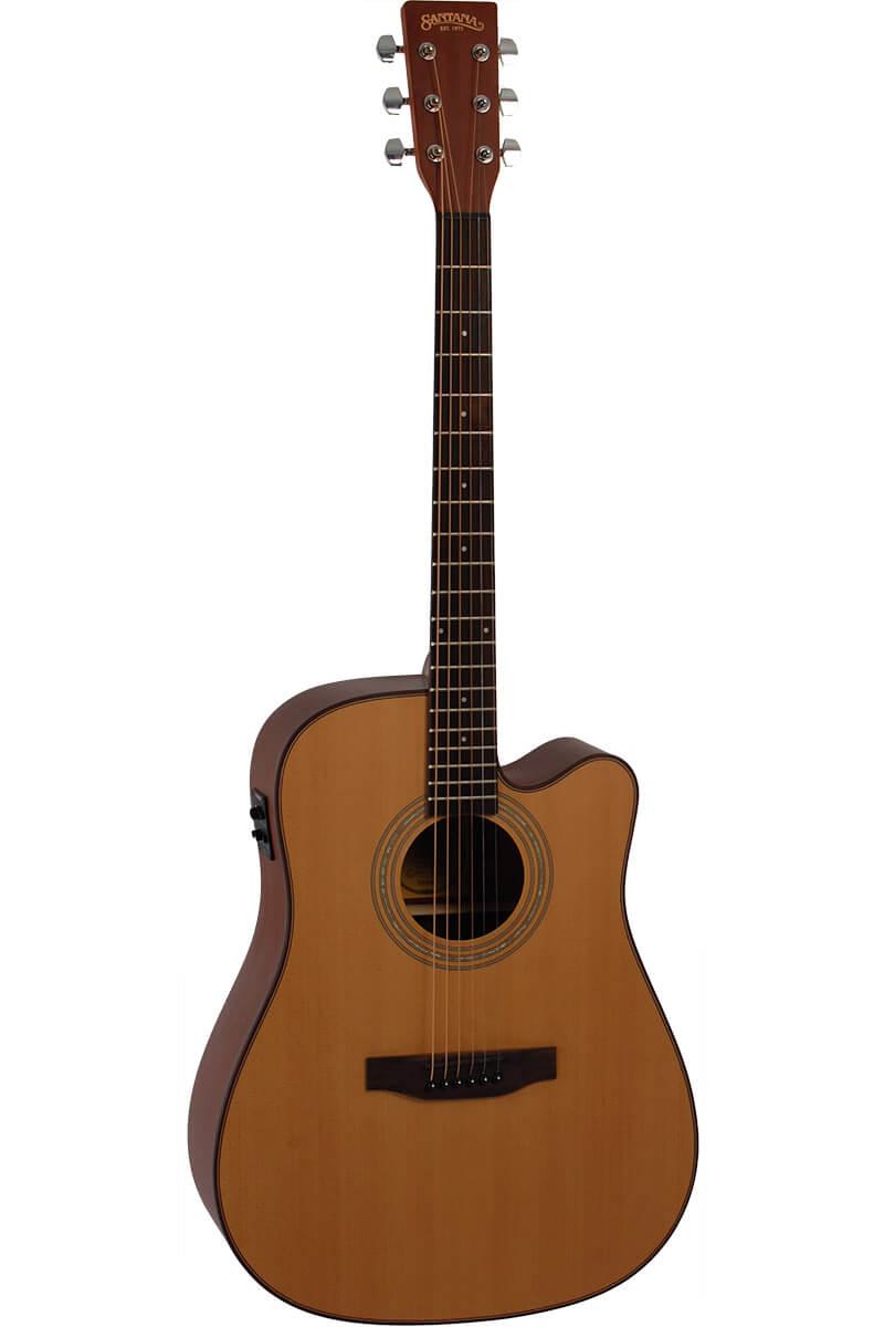 Image of   Santana LA-100CWISYS western-guitar natur