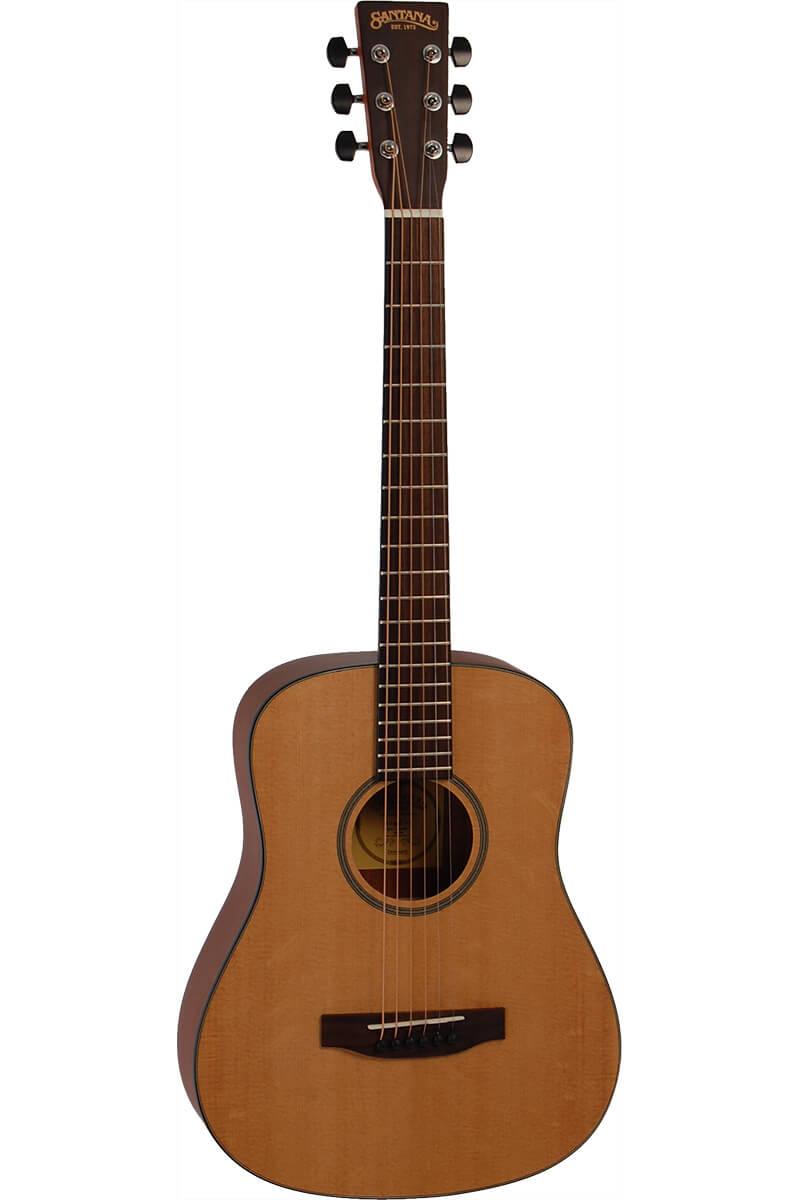 Santana ST-200B western-guitar,shorty natur