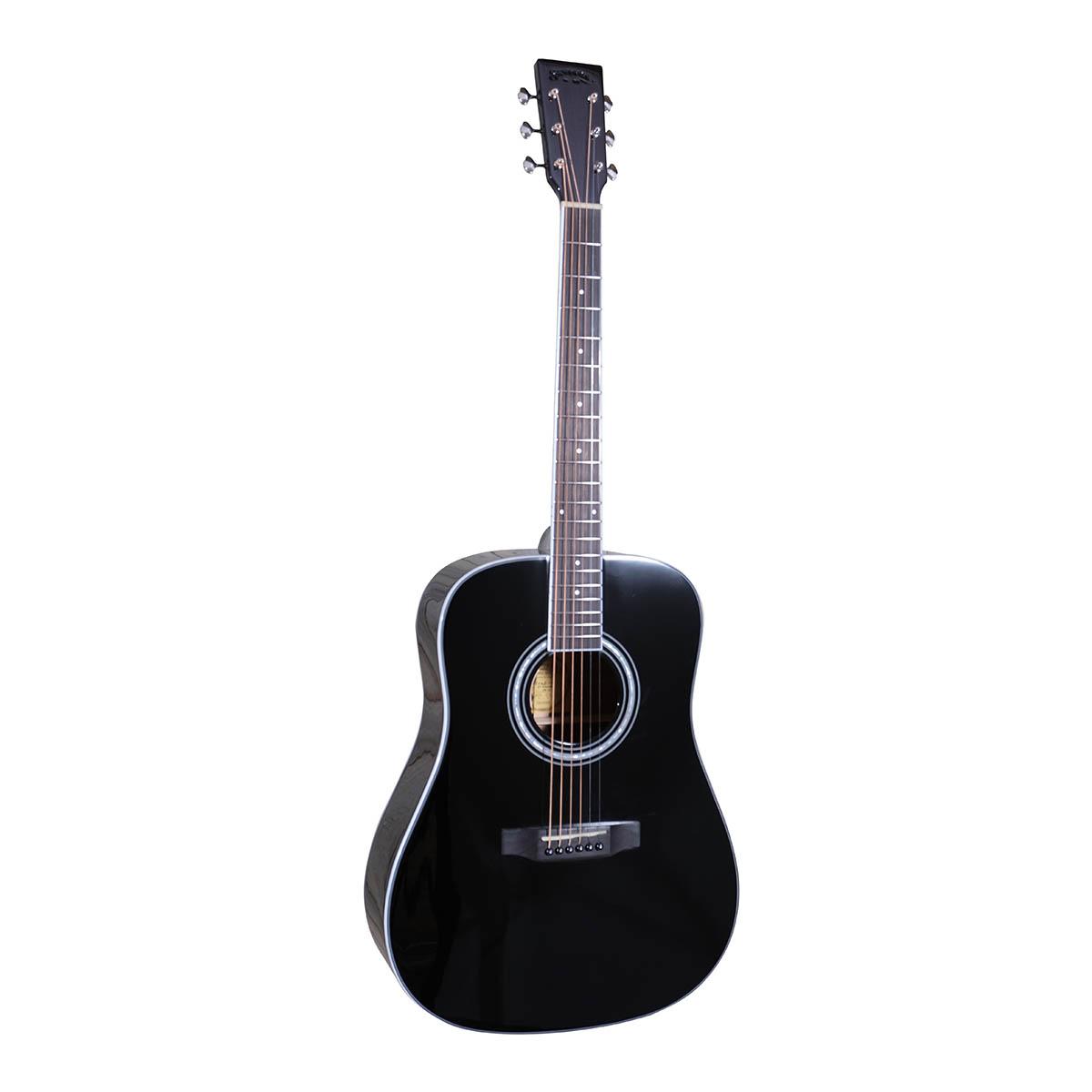 Santana ST-300DBK western-guitar sort