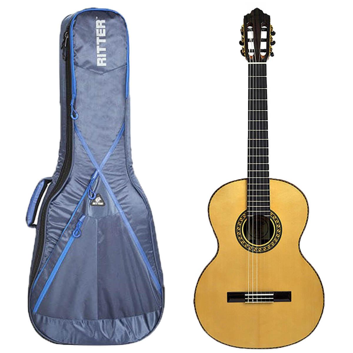 Santana ST600 spansk guitar med taske