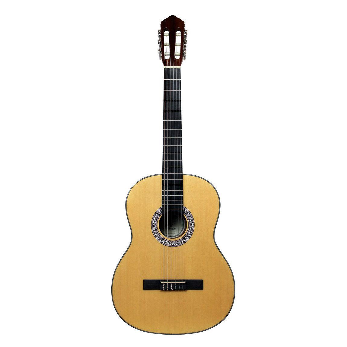 Santana B7 NA v2 børne spansk-guitar natur