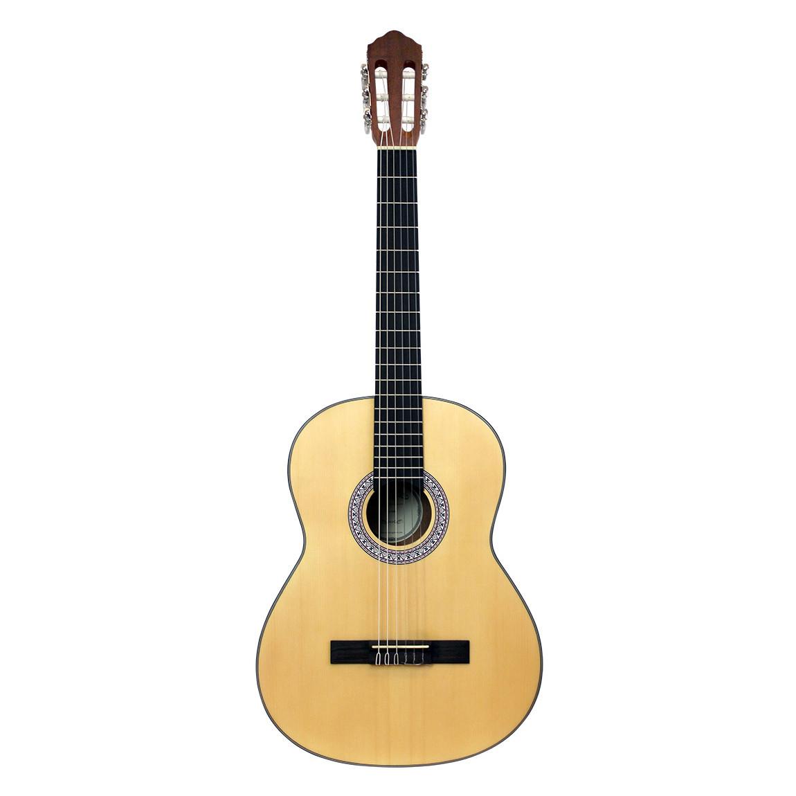 Santana B8 NAS v2 spansk-guitar satin