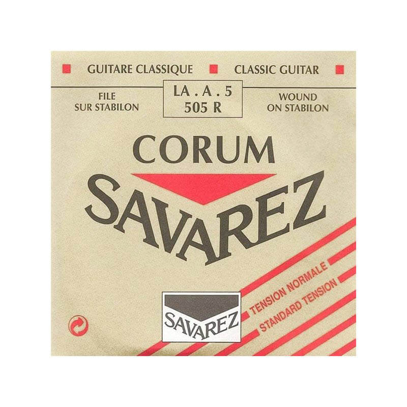 Image of   Savarez 505R Corum A5 løs spansk guitar-streng, rød