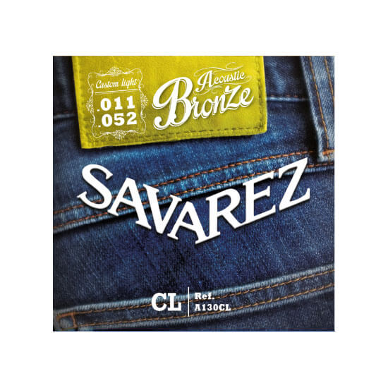Image of   Savarez A130CL western-guitar-strenge, 011-052