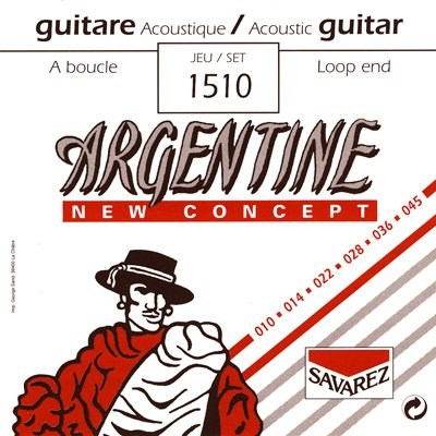 Image of   Savarez 1510 Argentine NT Loop End gypsy guitar-strenge