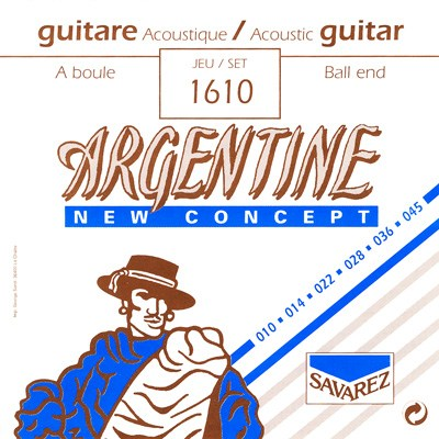 Image of   Savarez 1610 Argentine NT Ball End gypsy guitar-strenge