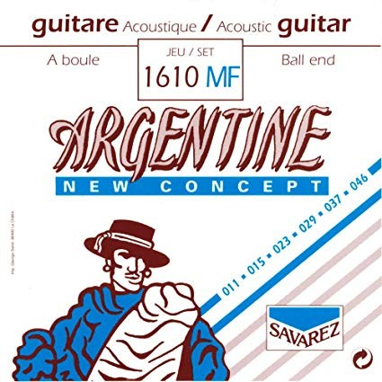 Image of   Savarez 1610MF Argentine NT Ball End gypsy guitar-strenge