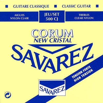 Image of   Savarez 500CJ New Corum spansk guitar-strenge, blå