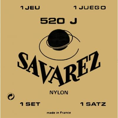 Image of   Savarez 520J spansk guitar-strenge, gul