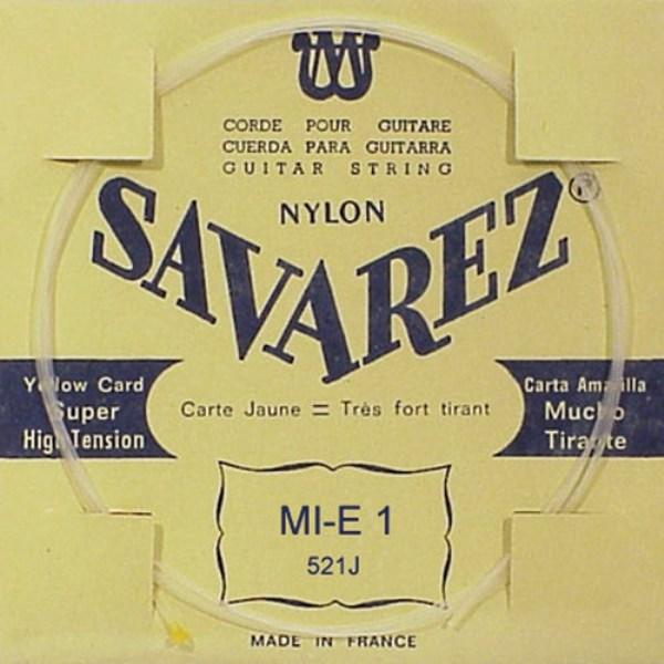 Image of   Savarez 521J E1 løs spansk guitar-streng, gul