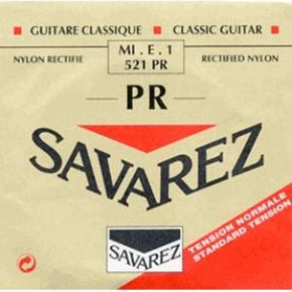 Billede af Savarez 521PR Corum E1 løs spansk guitar-streng, rød