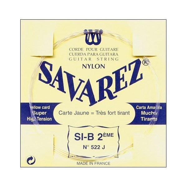 Image of   Savarez 522J H2 løs spansk guitar-streng, gul