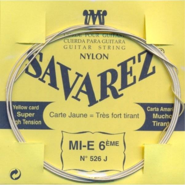 Image of   Savarez 526J E6 løs spansk guitar-streng, gul