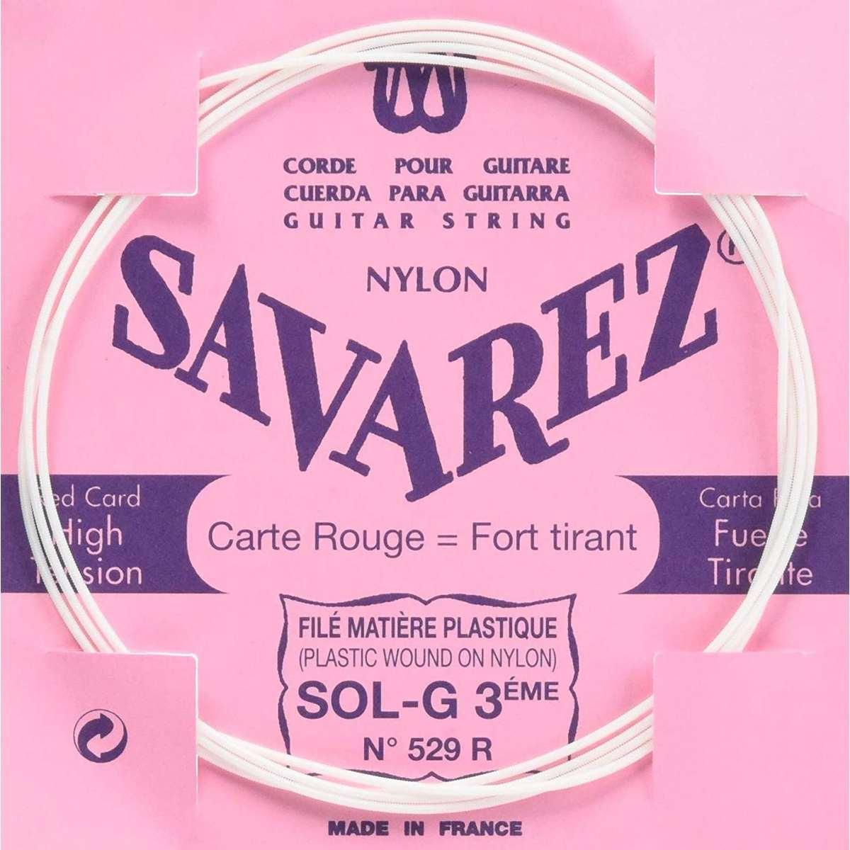 Image of   Savarez 529R G3 løs spansk guitar-streng