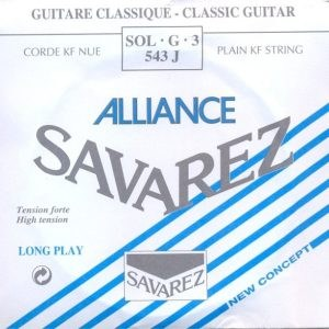 Image of   Savarez 544J Alliance D4 løs spansk guitar-streng, blå