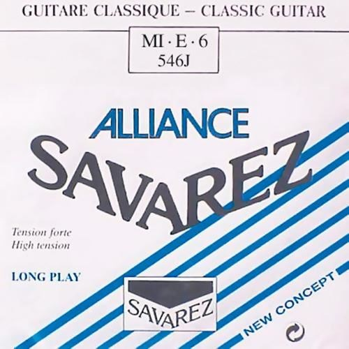 Image of   Savarez 546J Alliance E6 løs spansk guitar-streng, blå