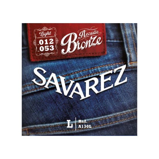 Image of   Savarez A130L western-guitar-strenge, 012-053