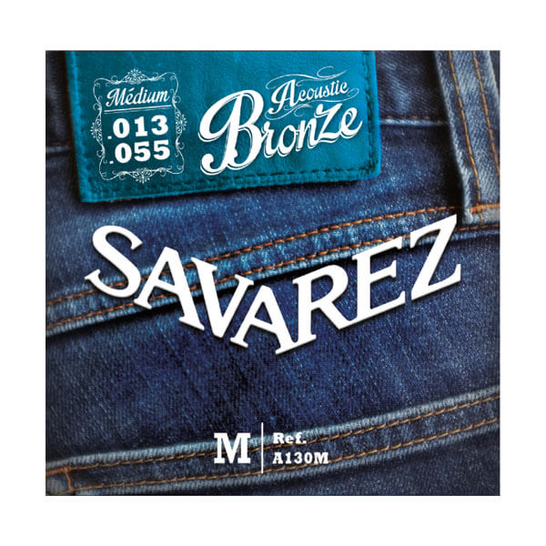 Image of   Savarez A130M western-guitar-strenge, 013-055