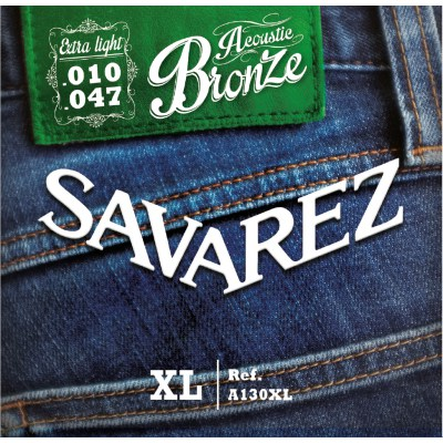 Image of   Savarez A130XL western-guitar-strenge, 010-047
