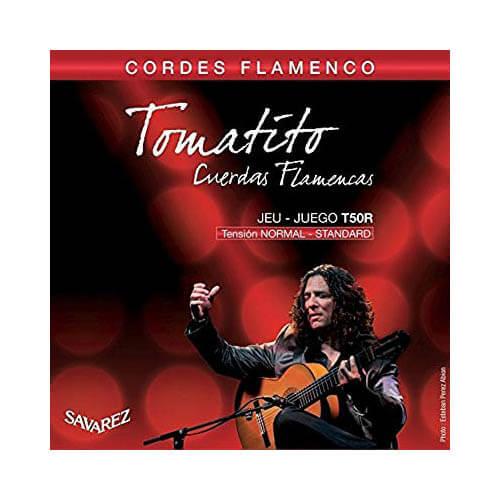 Image of   Savarez T50R Tomatito spansk guitar-strenge
